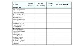 Free Event Management Plan Template Designtruck Co