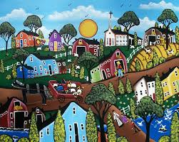 Country Living Painting by Lori Everett