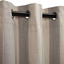 sunbrella decade pewter outdoor curtain panel available in 84 96 108