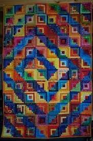 The 25+ best Spiral quilting ideas on Pinterest | Baby quilt ... & Log Cabin Spiral quilt - kinda makes me dizzy, but it's a good way to Adamdwight.com