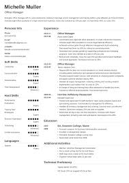 Office Administration Resume Examples Office Manager Resume Sample Job Descriptions Guide