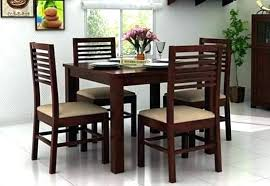 Four Dining Room Chairs Cool Ideas
