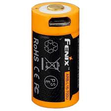 Аккумулятор Fenix 700 мА·ч 16340 c MicroUSB ... - ROZETKA