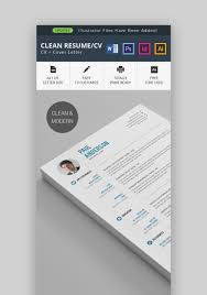 20 Modern Resume Templates With Clean Elegant Cv Designs 2019
