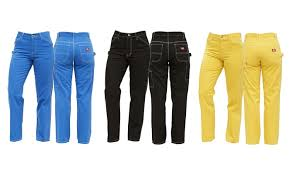Up To 32 Off On Womens Classic Carpenter Pants Groupon Goods