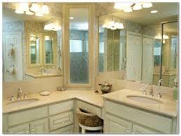 corner medicine cabinet bathroom traditional with bath bathroom chrome finish wealthrealty rack and storage