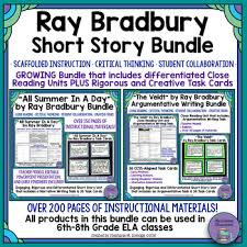ray bradbury short story bundle all summer in a day the veldt