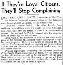 the muslim ban is racial profiling and we ve seen it before an actual article from 1943 telling ldquoamerican born japsrdquo they should ldquoregard their present confinement as their war contribution
