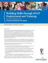 archive national skills coalition nsc releases recommendations on building skills through snap e t
