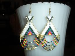 Native American Beaded Earrings Patterns Free New Inspiration