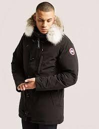 Canada Goose Chateau Jacket Black For Men B36v5496