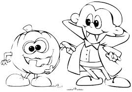 Cute Halloween Coloring Pages For Kids Cute Halloween Coloring Pages Graetdave Com