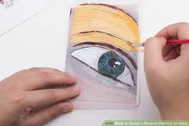 image titled create a reverse painting on glass step 15