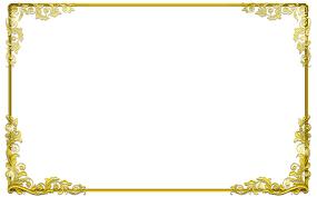 gold frame border png. Attractive Inspiration Bordre. Free Border Designs Png Gold Frame B