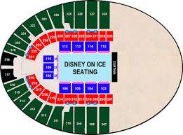 Disney On Ice Seating Chart 2018 Disney On Ice Ok State Fair