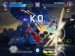 best ipad games transformers forged to fight