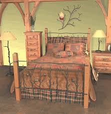 Rustic Headboards: Queen Size Rustic Sassafras Bed Frame and ...