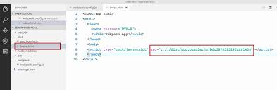 using html-webpack-plugin to generate index.html – A beginner's ...