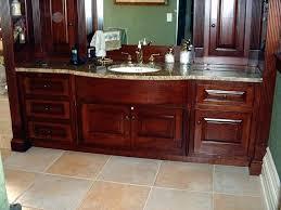 bathroom vanity wood impressive traditional style cherry wood master bath vanity at bathroom cabinet painted wood