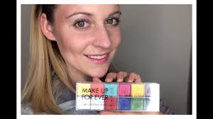 makeup forever flash palette review swatches