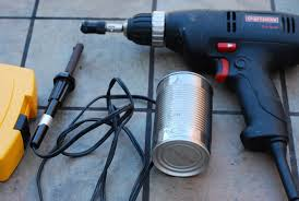 cold smoke generators with soldering irons so i thought i d entertain myself today making one all you need is a drill a can and a soldering
