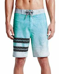Hurley Phantom Block Party Sig Zane Swimwear Blue Men S