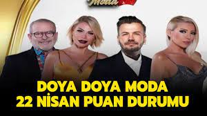 Doya Doya Moda 22 Nisan 2021 puan durumu!