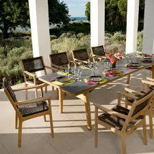 barlow tyrie equinox extending  seater dining set