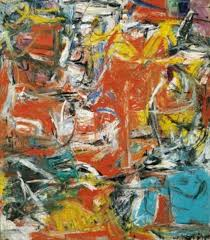 composition a painting by artist willem de kooning