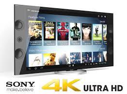 sony 4k tv. sony xbr 4k ultra hd tv 3d model max obj fbx 1