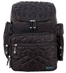 shona quilted 5 piece diaper bag backpack set dry bag and changing pad upgraded zippers