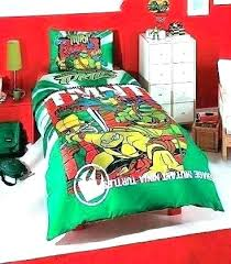 Turtle Bed Sets Bedding Set Ninja Turtles Twin King – Ksaw