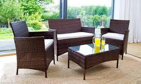 Elegant Rattan Outdoor Furniture Garden Furniture Wicker Outdoor