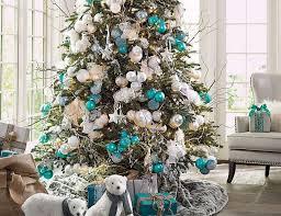 Weihnachtsdeko In Silber Christbaumschmuck Mit Blauen
