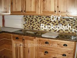 Diy Tile Kitchen Backsplash Diy Tile Backsplash Gettingfreedomnet