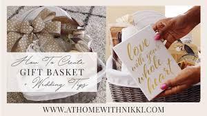 how to create a honeymoon basket easter gift basket tips plus wedding tips