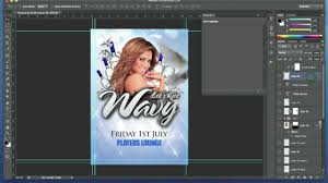 How To Design A Flyer In Photoshop Photoshop Tutorial Club Event Flyer Design 2