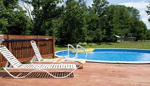 build an above ground pool deck