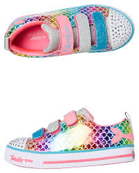 Skechers Toddler Light Up Shoes Australia Girls Twinkle Lite Sparkle Scales Shoe Youth