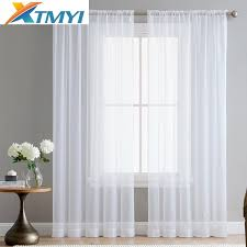 romantic bedroom window treatments. Brilliant Window 2018 Europe Solid White Yarn Tulle Curtains For Living Room Bedroom Window  Treatment Romantic Wedding Ceiling Drapes From Bowstring 344  DhgateCom With Treatments