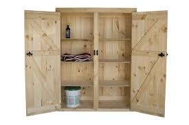Storage Cabinet With Locking Doors Amish Pine Furniture Cabinets Tack Boxes Feed Bins