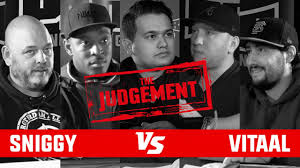 Sniggy vs Vitaal - The Judgement Punchoutbattles Live - YouTube