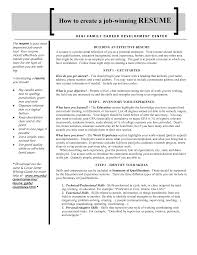 Job Winning Resumes Amazing Job Winning Resume Samples Contemporary Entry Level Resume 1