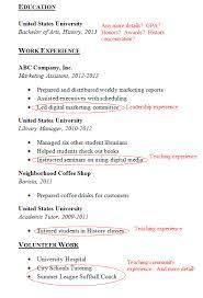 Waitress Experience Resume Examples
