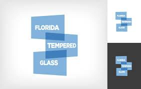 logo design by osbornej76 2 for florida tempered glass inc design 16408179