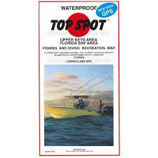 Key Largo Fishing Charts Upper Keys Top Spot Charts Florida Bay To Long Key