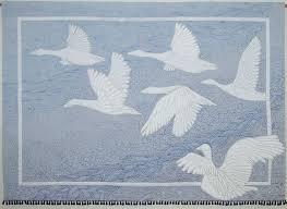 """Midnight Flight"" by Erin <b>Underwood</b>. Shadow Trapunto, see quilting ..."