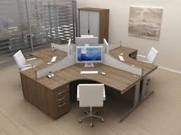 office desk workstation. Plain Workstation Image Is Loading UsedNewofficefurnitureworkstationcomputerdeskoffice For Office Desk Workstation C