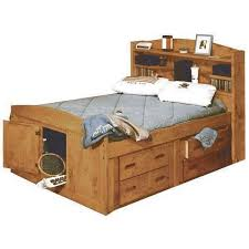 Bunkhouse Full Size Captains Bed TWOOD FULLCAPT