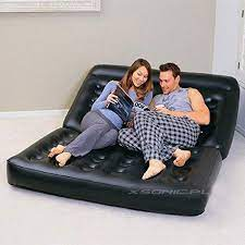 1 inflatable sofa airbed couch